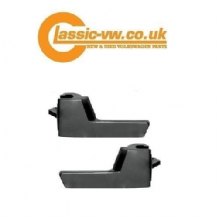Interior Door Release Handle Set Black 191837226 & 191837225 Scirocco, Mk2 Golf,  Corrado, Jetta